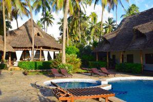 Next Paradise Zanzibar Pool and Reception