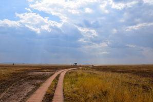 Serengeti Road and Sky