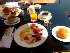 A healthy and fresh breakfast