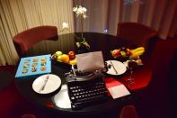 W Doha Wow Suite Welcome Table