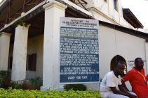 Zanzibar Christ Church Sign