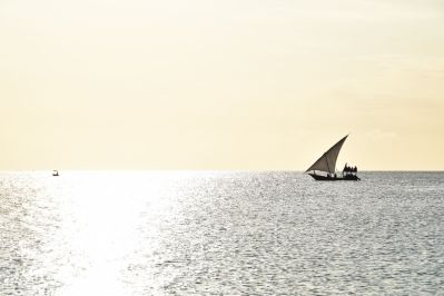 Zanzibar Nungwi Beach Sunset and sail