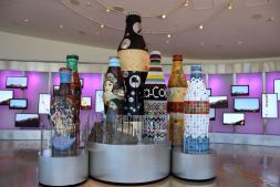 Atlanta Coca Cola World Bottles