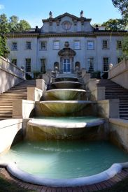 Swan House Fountain