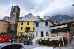 Carrara Colonnata Town