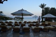 Kempinski Ishtar Dead Sea Circular Pool Chairs