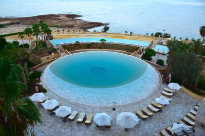 Kempinski Ishtar Dead Sea Circular Pool