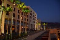 Kempinski Ishtar Dead Sea Main Building Night