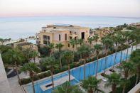 Kempinski Ishtar Dead Sea Reflection Pool Day