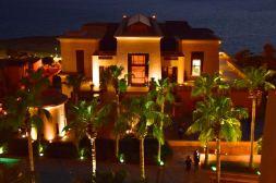 Kempinski Ishtar Dead Sea Resort Building Night