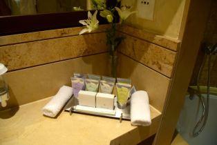 Kempinski Ishtar Dead Sea Room Bathroom Amenities
