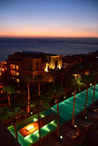 Kempinski Ishtar Dead Sea Sunset View