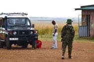 Maasai Mara Departure Soldier