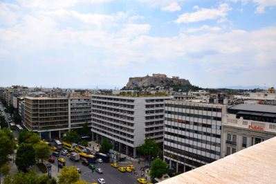 NJV Athens Plaza Hotel Room View