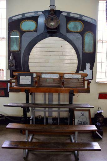 Nairobi Railway Museum Engine Chair
