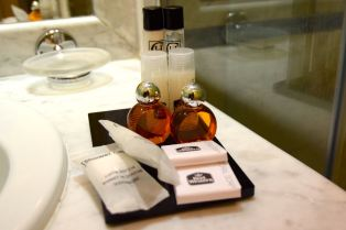 Best Western Yerevan Room Bath Amenities