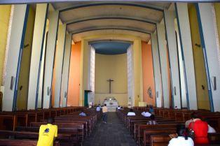 Bujumbura City Cathédrale Regina Mundi Interior