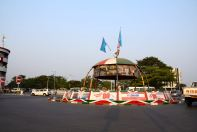 A roundabout in Bujumbura
