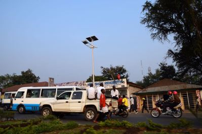 Bujumbura City Center Street Scene