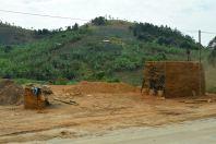 Drive to Kampala Bricks