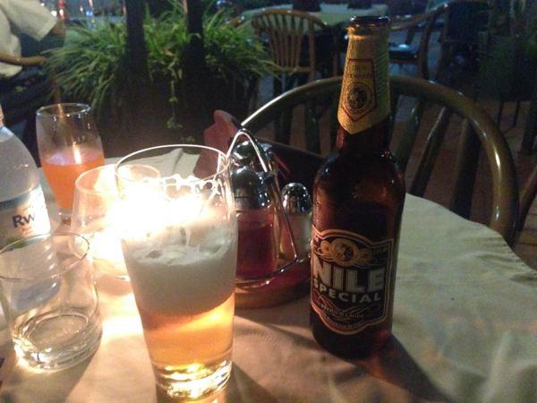 Kampala Dinner Beer
