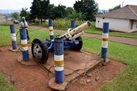 Kampala Mengo Palace Cannon
