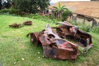 Kampala Mengo Palace Rolls Royce Ruins