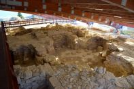 Kourion Ruins Covered