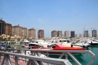 The Pearl-Qatar Marina Boats
