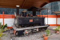 Maputo Train Station Antique Train