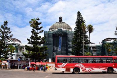Maputo Train Station Exterior
