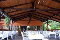 Mantenga Lodge Restaurant Seating