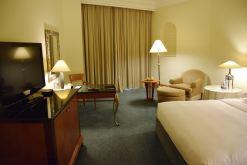 Grand Hyatt Muscat Room TV