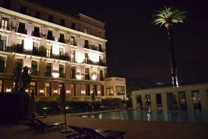 Royal Riviera Pool at Night