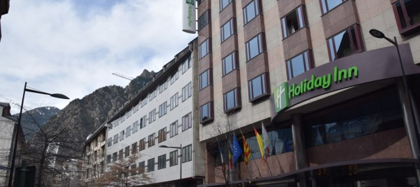 Holiday Inn Andorra Header
