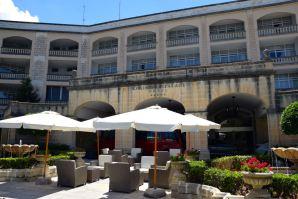 Corinthia Palace Hotel & Spa Sign Courtyard