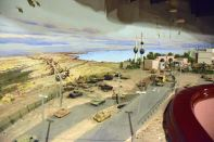 Kuwait House of National Works Invations Diorama of invasion