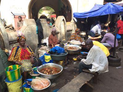 Bamako Market Street Food