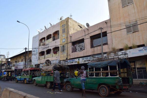 Bamako Street Taxi