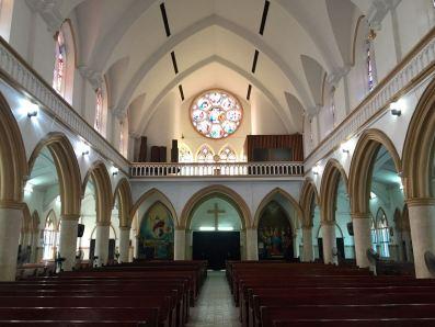 Nigeria Lagos Cathedral Interior