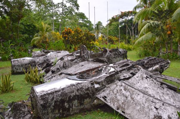 Solomon Vilu War Museum Wreck