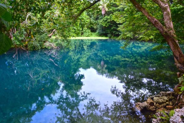 Vanuatu Blue Hole