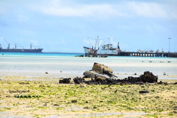 Kiribati Tarawa M1 Sherman Tank