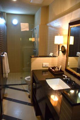 RLJ Kendeja Resort Room Bathroom