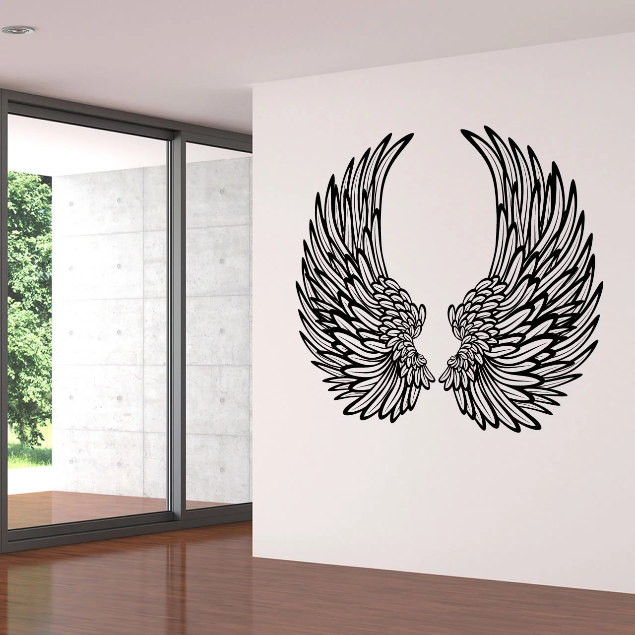 Decorative Wall Stickers Decorative Angel Wings Wall Sticker World Of Wall Stickers