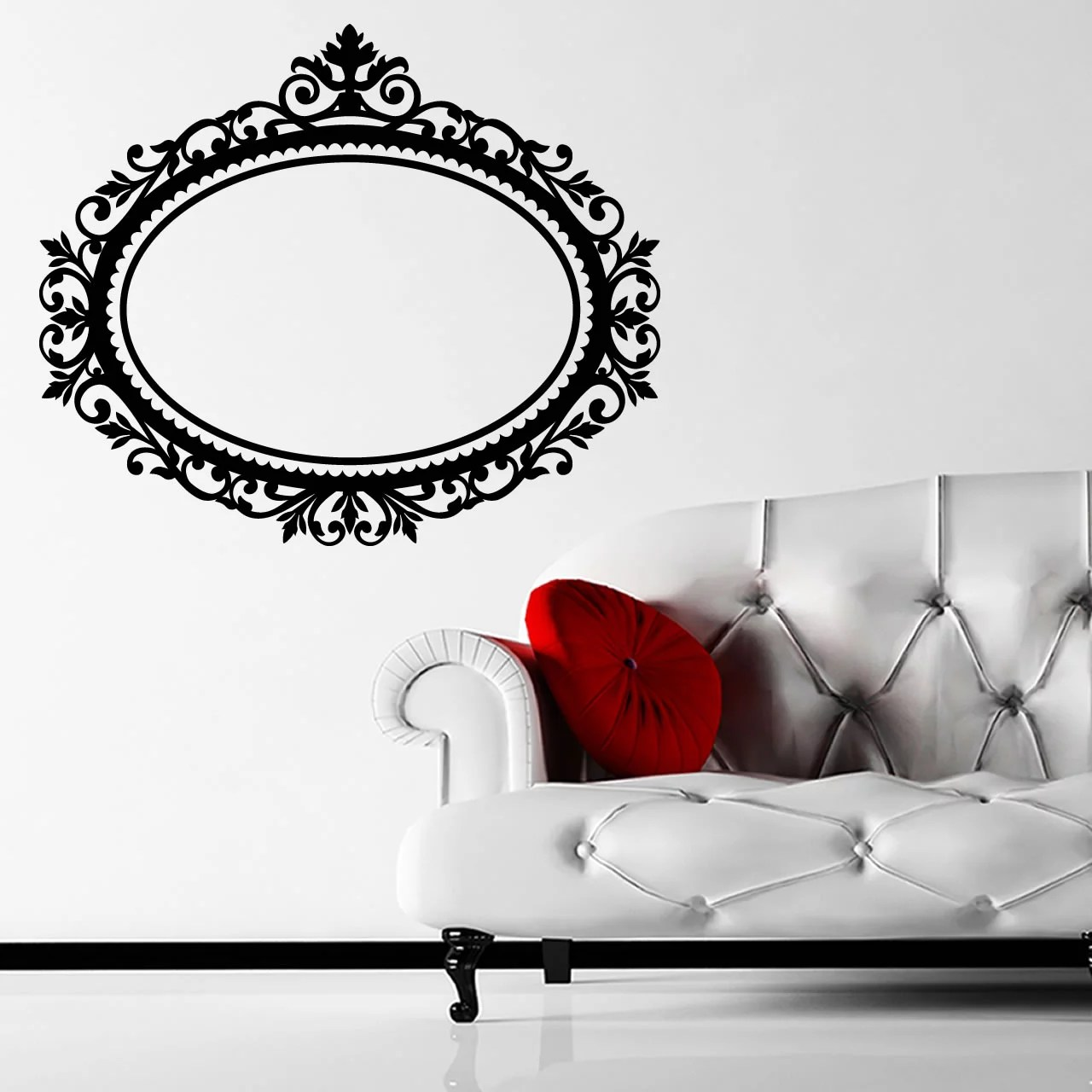 Decorative Wall Stickers Decorative Frame Wall Sticker Decal World Of Wall Stickers