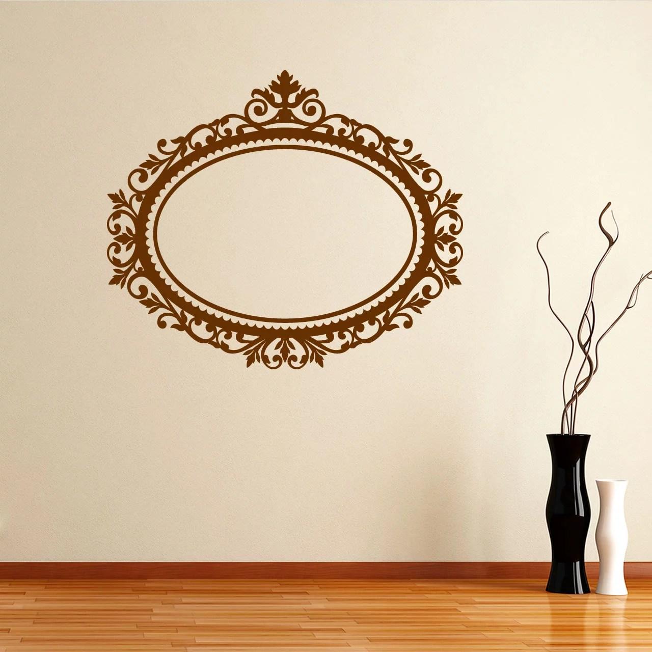 Decorative Wall Stickers Decorative Frame Wall Sticker World Of Wall Stickers