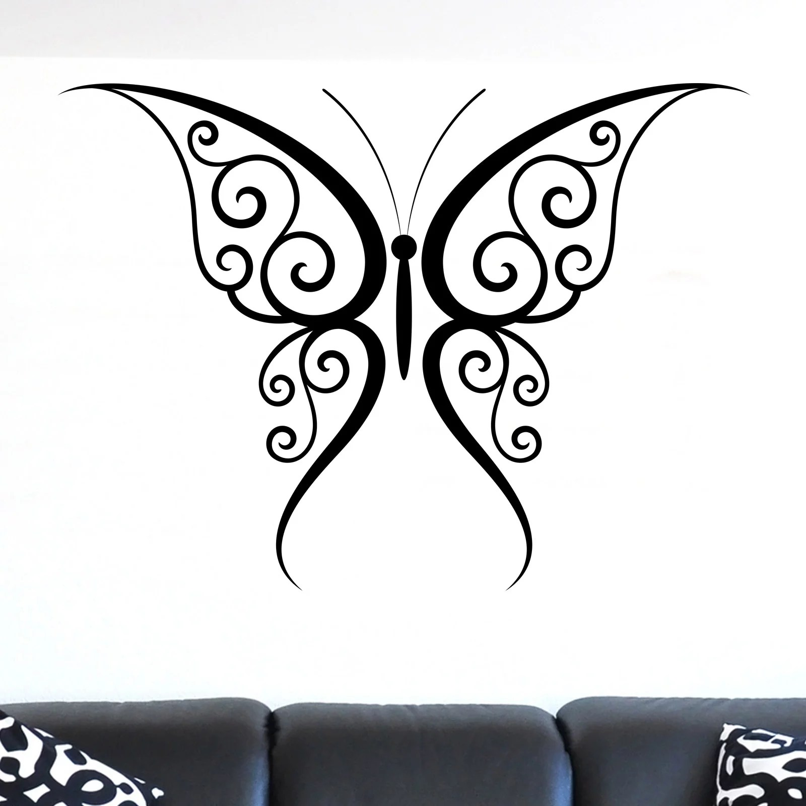 Decorative Wall Stickers Decorative Butterfly Animal Wall Sticker World Of Wall