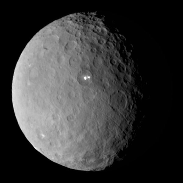 Ceres: Possible plume hints at active world