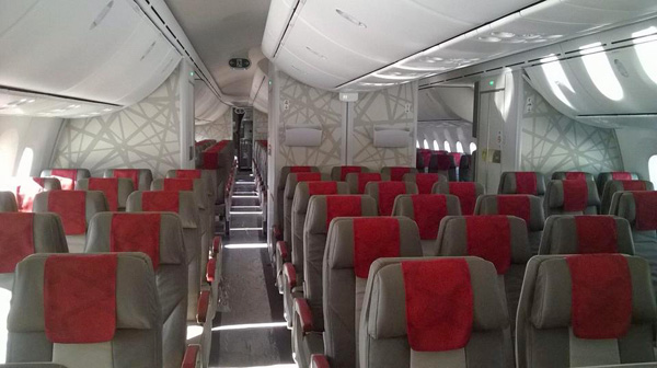 Interieur Boeing 747 Royal Air Maroc Takes Delivery Of Its First Boeing 787